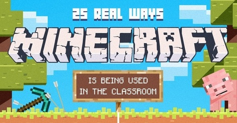 25 Real Ways Minecraft is Being Used in the Classroom | Games and education | Scoop.it