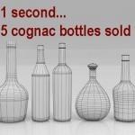 Five Bottles of Cognac Sell Every Second | Cognac-news | Scoop.it