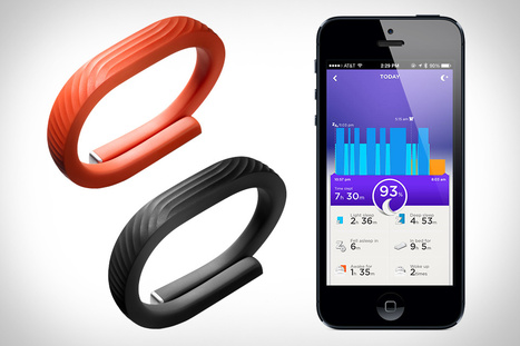 Keeping up good habits with the Jawbone Up™ application | Are Your Fitness Results related to your Social Media usage? | Scoop.it