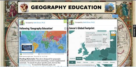 'Geography Education' is 4 years old... | Digital Media Literacy + Cyber Arts + Performance Centers Connected to Fiber Networks | Scoop.it