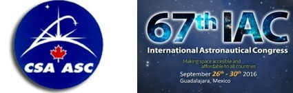 CSA offers up funding for students to attend IAC 2016 in Guadalajara, Mexico on September 26th - 30th | More Commercial Space News | Scoop.it