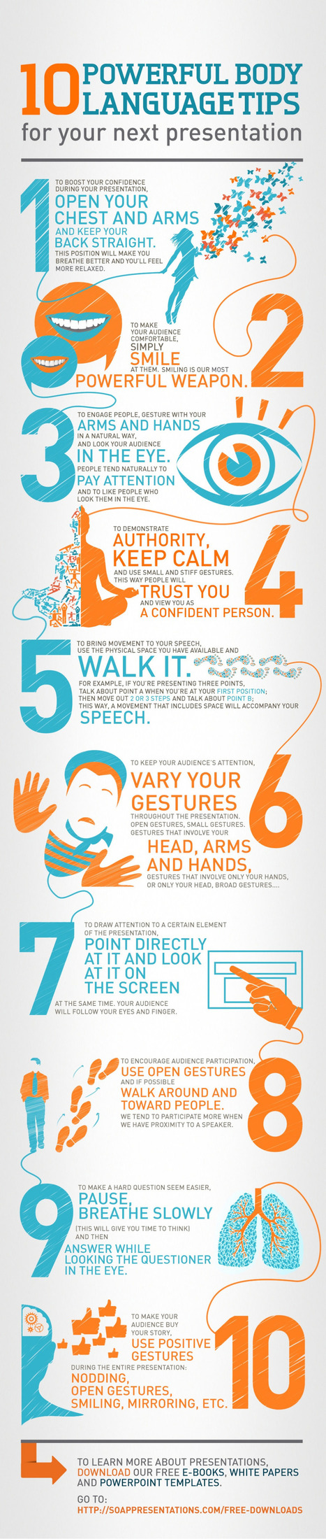 10 Body Language Tips to Help You Command Your Classroom | Era Digital - um olhar ciberantropológico | Scoop.it