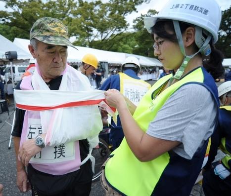 [Photos] Japon : exercice national de simulation d'un séisme à Tokyo | Chine-informations.com | Japon : séisme, tsunami & conséquences | Scoop.it