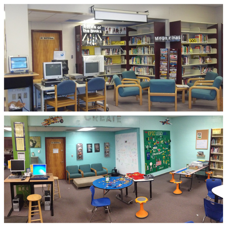 Rethinking our Library Space - Renovated Learning @DianaLRendina #makered | Bibliotecas Escolares | Scoop.it