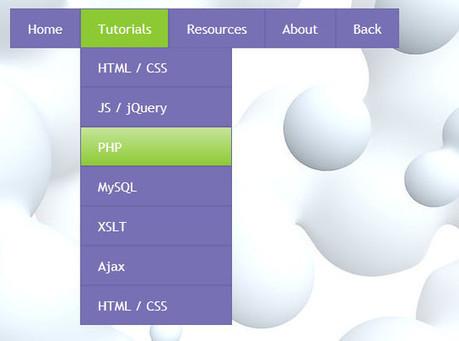 40+ Excellent CSS3 Menu Tutorials | Time to Learn | Scoop.it