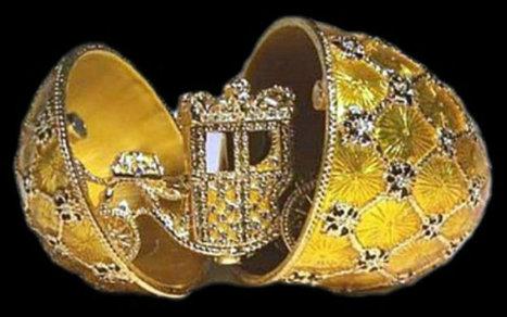 Un œuf Fabergé d'une valeur de 24 millions d'euros retrouvé dans une brocante - CitizenPost | Les expositions | Scoop.it