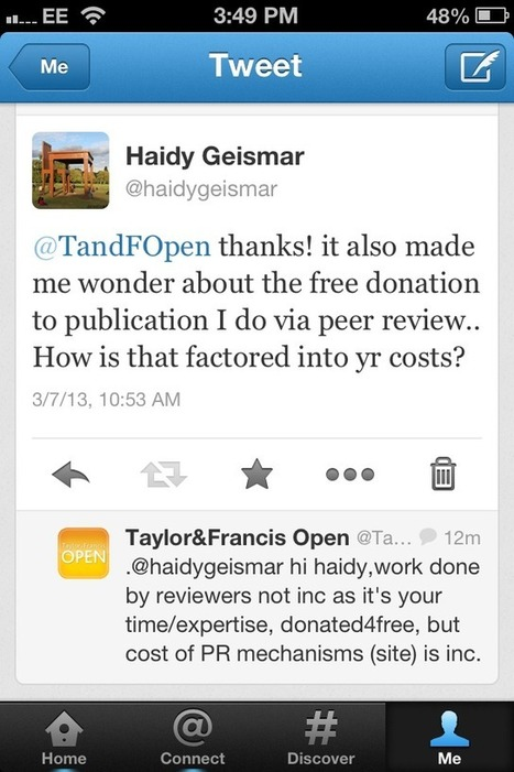 Chipping into the debate on Open Access | Material World | Open Access discussions | Scoop.it