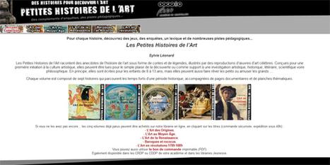 35 Petites Histoires de l'Art sous forme de contes et de légendes     conférence pédagogique   Scoop.it