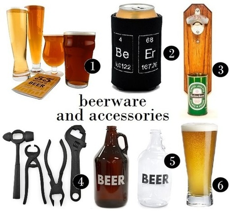Choose the Right Beer Accessories to Compliment your Favorite Brew | Cdnbev | Scoop.it