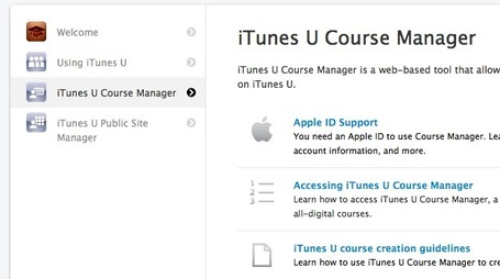 Curate Your Next Online Course with the iTunes U Course Manager | SM | Scoop.it
