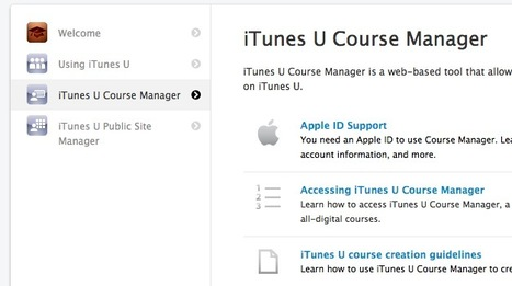 Curate Your Next Online Course with the iTunes U Course Manager | Content Curation World | Scoop.it