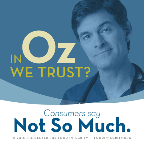Center for Food Integrity : Whom Do Consumers Trust on Food Issues? | Public Relations & Social Media Insight | Scoop.it