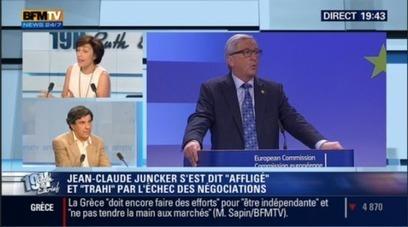 #Grèce : #RuthElkrief, #ChienneDeGarde de la #Troïka, questionne #JacquesSapir. Il lui explique ..   Infos en français   Scoop.it