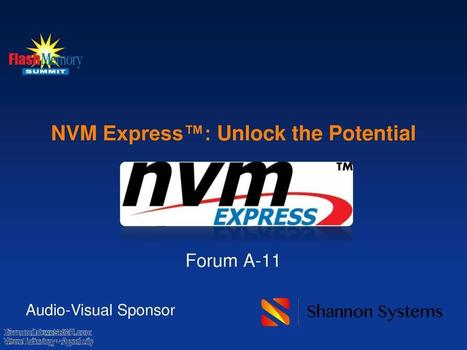NVM Express™ - The Maturity - Ecosystem Development - What's New in Rev 1.2, Electronics   afterhours.wesrch.com (Entertainment, Sports, Fashion, Parenting)   Scoop.it