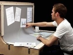 BendDesk: Escritorio curvo con capacidad multi-touch (vídeo)   Experiencias  en Educación con Pizarras Digitales Interactivas   Scoop.it