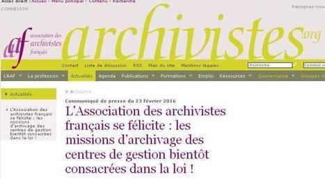 Article du jour (215) : Missions d'Archivage | CGMA Généalogie | Scoop.it