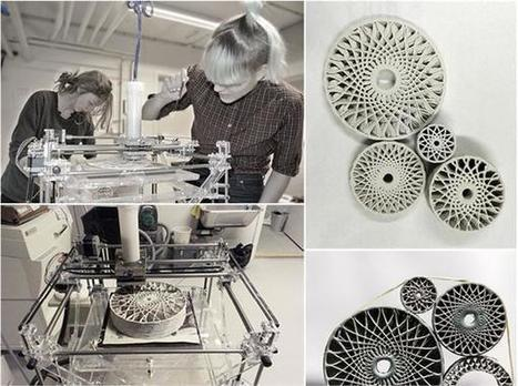 Sensitive Ceramics: 3D printed ceramics that explore the body and digital design | 3D_Materials journal | Scoop.it
