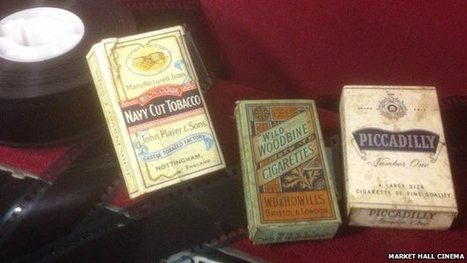 1930s cigarettes found in cinema | Vintage and Retro Style | Scoop.it