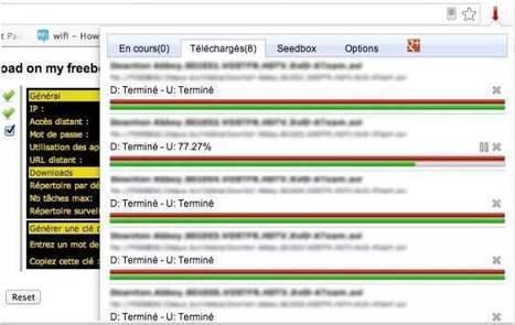 Les téléchargements de la Freebox gérés depuis Chrome, Download on my Freebox | Time to Learn | Scoop.it