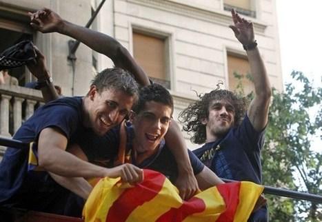 Puyol y su celebración 'demasiado alegre' en los Rua del Barça tras ... - ecodiario | FCBarcelona | Scoop.it