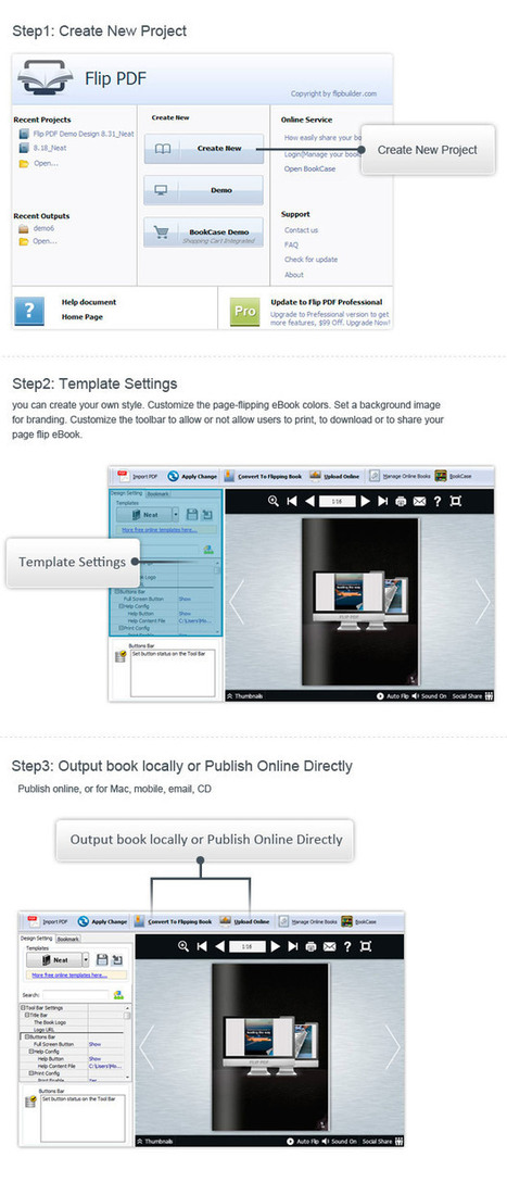 Digital Publishing PDF to Flippingbook for iPad, Web and Android with Flip PDF | Flipbook | Scoop.it