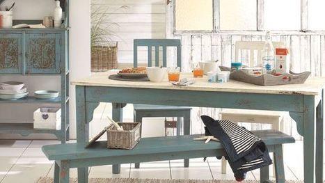 Patiner un meuble en bois en couleur | Décoration, tendances et bons plans | Scoop.it