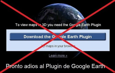 Geoinformación: Chrome 64 bits no soportará el plugin de Google Earth | #GoogleEarth | Scoop.it