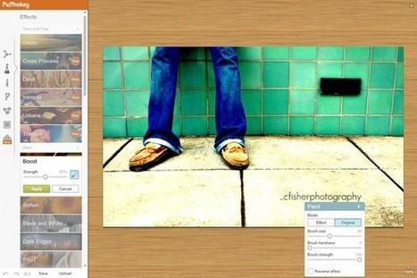 Cómo crear imágenes en línea bonitas y sin saber diseñar | TabletsyTabletes | Scoop.it