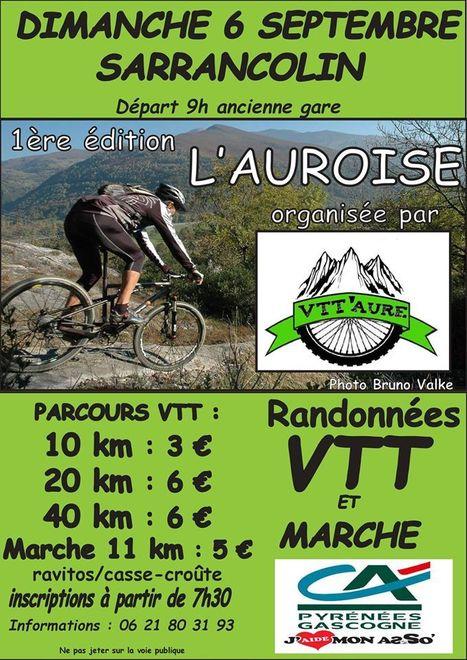 Courses VTT et marche à Sarrancolin le 6 septembre | Vallée d'Aure - Pyrénées | Scoop.it
