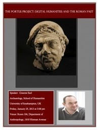 Campus DH Talk – The Portus Project: Digital Humanities and the ... | PORTUS MUSEUM 2014 | Scoop.it