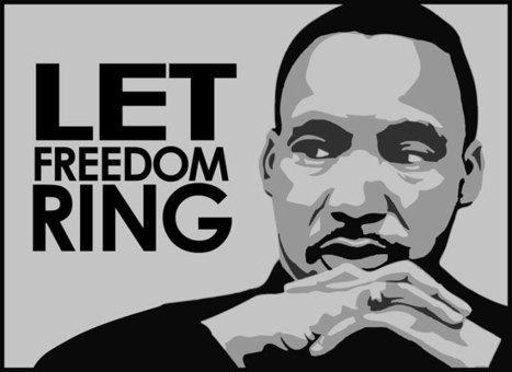 As the words say... | Modern day Dr. Martin Luther King | Scoop.it