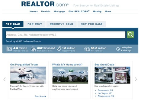 Realtor.com Rolls Out New Look | REALTOR Association Management | Scoop.it