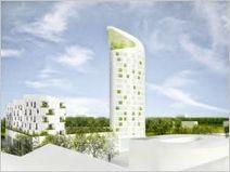 La Tour Elithis Arsenal prendra sa place dans un écoquartier à Dijon - Batiactu | les éco-quartier | Scoop.it