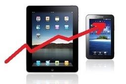 Explosion des ventes de tablettes en Europe de l'Ouest | High tech,multimedia et jeux video | Scoop.it