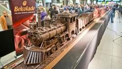 Le plus long train en chocolat entre en gare du Midi - 7sur7 | Mission Calais - SNCF Développement - le Cal'express - | Scoop.it