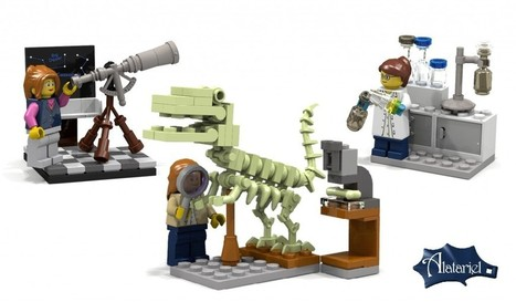 LEGO will make new female characters with science jobs | Science and Engineering Education | Scoop.it