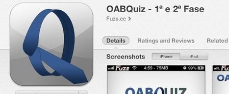 Estude para a OAB com o OABQuiz - 1ª e 2ª Fase   Factory   Scoop.it