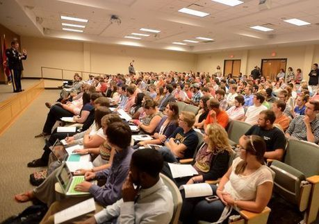Former Army Ranger speaks to FHU students about leadership - Jackson Sun   Realizing Leadership   Scoop.it