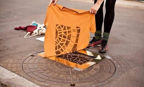 raubdruckerin pirate printers ink berlin's manhole covers | What's new in Visual Communication? | Scoop.it