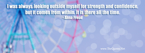 Facebook Cover Image - Anna Freud Quotes - TheQuotes.Net | Facebook Cover Photos | Scoop.it