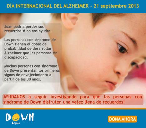 Día Mundial del Alzheimer   Sindrome de Down   Scoop.it