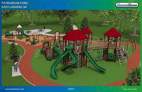 East Lansing volunteers start building new playground in Patriarch Park this week - Lansing State Journal | MICRO Projects | Scoop.it
