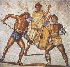 A Matter of Life and Death: Gladiatorial Games, Sacrificial Ritual and Literary Allusion | Deporte y Entretenimiento en la Edad Media | Scoop.it