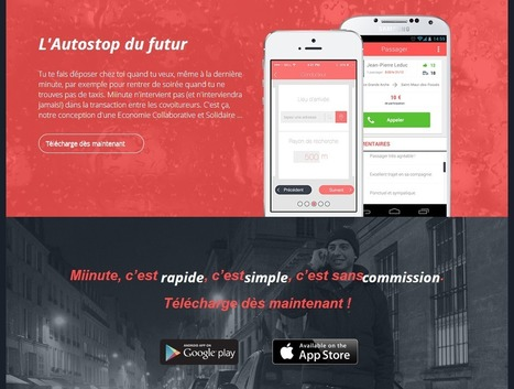 Miinute : L'autostop du futur | NewMobilities | Scoop.it