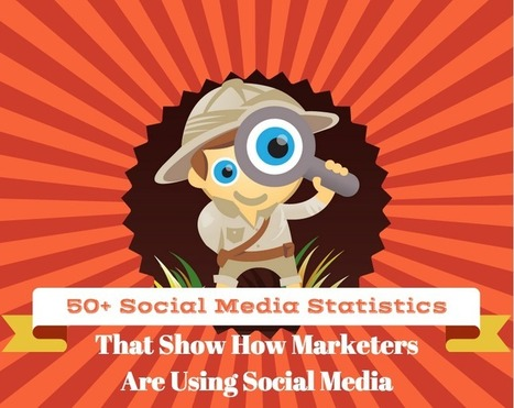 50+ Statistics That Show How Marketers Are Using Social Media | Marketing in a digital world and social media (French & English) | Scoop.it