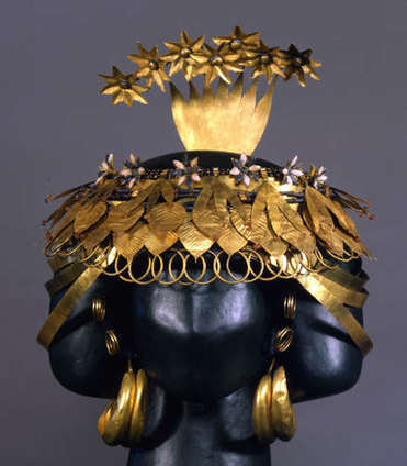 the search for fact | jeannepompadour: Elaborate gold headdress found... | some anthropology + found in translation | Scoop.it