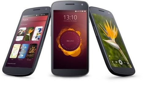 Les premiers smartphones Ubuntu dévoilés au CES | Ubuntu French Press Review | Scoop.it