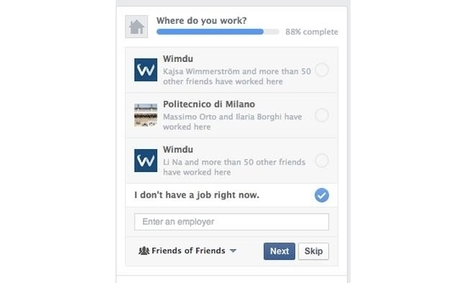 Are You Currently Unemployed? Some Facebook Users Can Indicate This On Their Profiles | L'espace candidat | Scoop.it