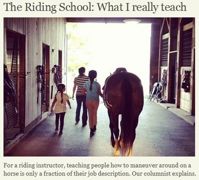10 Life Lessons Learned at the Barn « HORSE NATION | From the Equine Blogosphere | Scoop.it