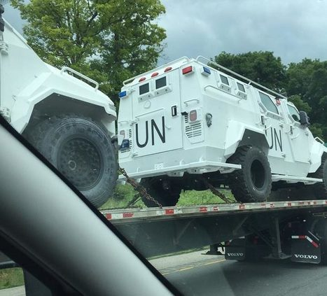 PHOTOS: UN military vehicles seen rolling down Virginia interstate - The American Mirror | Xposing Government Corruption in all it's forms | Scoop.it